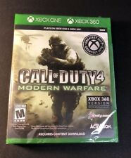 Call of Duty 4 Modern Warfare [ Plays on XBOX 360 / G2 Case ]  (XBOX ONE) NEW