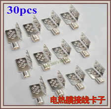 30pcs New Clamp Connector For Carbon Heating Film Warm Flooring