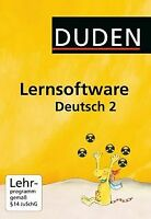 Duden Lernsoftware Deutsch 2 von Duden Paetec GmbH   Software   Zustand gut