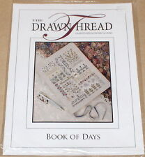 "The Drawn Thread ""Book of Days"" Cross Stitch Pattern w/ Threads & Beads"