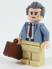 LEGO JURASSIC PARK DONALD GENNARO MINIFIGURE INGEN - MADE OF GENUINE LEGO PARTS