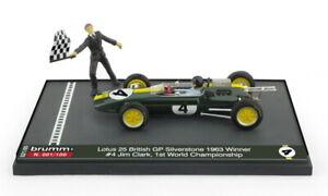 Lotus 25 Jim Clark Winner British GP 1963 1:43 - RACING MODELS EXCLUSIVE