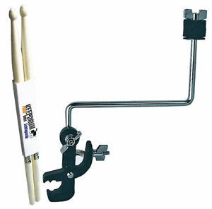 BASIX Cymbal Holder For Terminal + Keepdrum Drumsticks 1 Pair