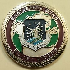 91st Space Wing Rough Riders Safety Air Force Challenge Coin