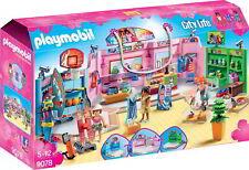 Playmobil 9078 Promenade commerciale con 3 Magasin Pla9078