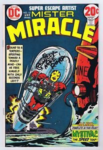 Mister Miracle #12 VF+ OWP Signed w/COA Mike Royer 1973 DC Comics Bronze Age PWC
