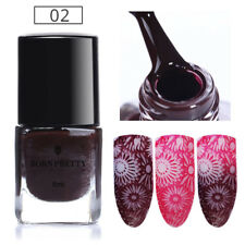 6ml Nail Art Thermal Color Changing Chameleon Holographic Stamping Polish Decor