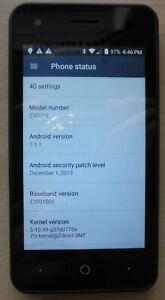 ZTE Z3001S - QLink Wireless - Black - Smartphone