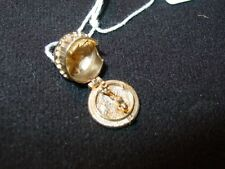 14K Yellow Gold Lion Tamer and Lion In Circus Tent Charm-Opens-Tamer & Lion