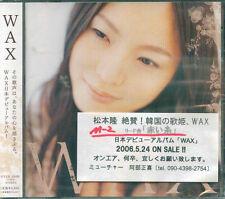 WAX - WAX - Japan CD - NEW K-POP Korea-POP