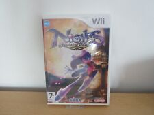 Nights Journey of Dreams Nintendo Wii pal version new sealed