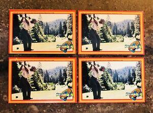 4 LOT 1996 Upper Deck Space Jam Michael Jordan Sticker Card #62 Golf Pack Fresh
