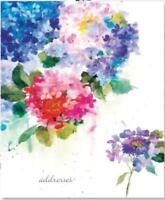 Hydrangeas Large Address Book - Peter Pauper Press -VG*