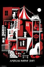 AMERICAN HORROR STORY - GRAPHIC COLLAGE POSTER - 22x34 - 14268