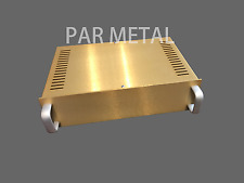 Head-Fi DIY HiFi PSU DAC audio power supply chassis aluminum table top 20-12084A
