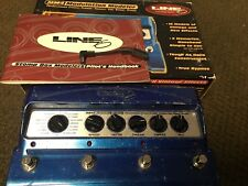 Line 6 MM4 Modulation Pedal With Box/manual/adapter (chorus/phaser/flanger)