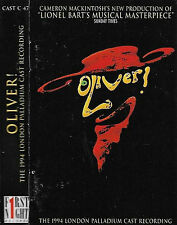 OLIVER 1994 LONDON PALLADIUM CAST CASSETTE ALBUM JONATHAN PRYCE SALLY DEXTER