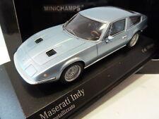 Extremely Rare Minichamps 1:43 Maserati Indy 1970 Blue Metallic 437123122