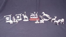 LOT HUDSON SPOONTIQUES PORT FINE PEWTER FIGURINES 3227 COCA COLA 3281 392 390