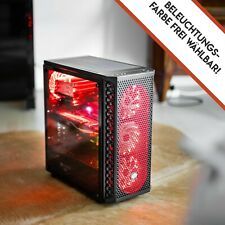 32GB RAM 6x4.3GHz AMD RX580 8GB 240GB SSD+1000GB Wlan Win10 Pro Gaming PC