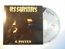 """LES SATELLITES : 4 PISTES - """"JINGLE"""" [ CD SINGLE PORT GRATUIT ] * PROMO SAMPLER"""