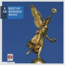Best of Baroque music 5 CD NUOVO Various