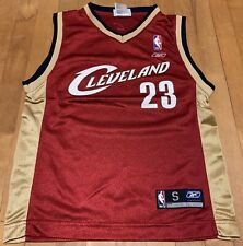 Lebron James Cleveland Cavaliers Jersey Reebok Youth Small Cavs NBA Lakers
