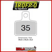 43003500 PASTIGLIE FRENO POSTERIORE OE SHERCO TRIAL 290 2.9 2005- 290CC [ORGANIC
