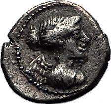 Roman Republic 90BC VICTORY PEGASUS Quinarius Ancient Silver Roman Coin i60457