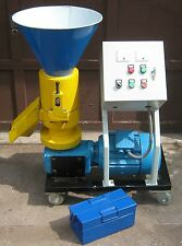 Wood Pellet Mill 7.5 hp.  Make your own fuel pellets from 100% sawdust. In stock