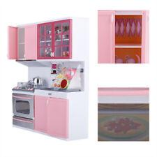 Kitchen Pretend Role Play Toy Set Kid Boy Girls Playing House Birthday Gift USA