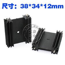 10PCS Aluminum Heatsink For TO-220 TO-247 Mosfet Transistor FET 34*12*38MM