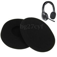 1 Pair Replacement Sponge Ear Pads Earpad Cushion for Logitech H800 Headphones