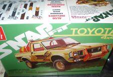 AMT 1114 1980 Toyota Hilux SR5 Pickup Truck Plastic Model Kit 1/25 NEW NIB