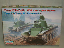 Eastern Express 1/35 Scale Russian BT-7 Mod 1937 Late Version Tank