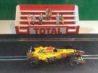 1:32 Scale Total Le Mans Grandstand with 7x figures, Scalextric Carrera building