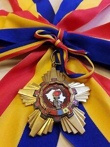 ROMANIAN Communist GRAND medal ROMANIA order VICTORY SOCIALISM diplomats SASH RR