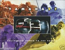 Boat Motor Brochure - Yamaha - Product Line Overview - Outboards - 1997 (SH80)
