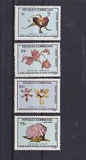 dominican Rep 1981 Sc C348/52 set ochids,MNH      j1298