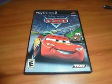 Cars (Sony PlayStation 2, 2006) Complete PS2 Disney Pixar