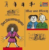 DIE ORIGINALE - 34/DER STRUWWELPETER & MAX UND MORITZ  VINYL LP NEU