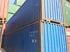 40' HC shipping container storage container conex box in Dallas, TX