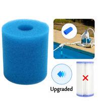 9x10cm Swimming Pool Filter Foam Reusable Washable Sponge Cartridge FoWR