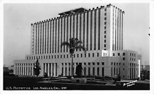 Real Photo Postcard United States Post Office in Los Angeles, California~109682