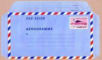 TIMBRE DE FRANCE 1982 AEROGRAMME CONCORDE SURVOLANT PARIS YV N° 1009 AER NEUF