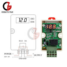 12V 20A Under Voltage Protection Delay Relay Voltage Controller For Car Battery