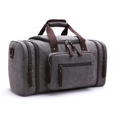 New Vintage Men Canvas Luggage Duffle Bag Gym Handbag Travel tote Bag  Overnight