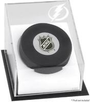 Tampa Bay Lightning Puck Logo Display Case - Fanatics