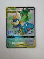 Chikorita & Cyndaquil & Totodile - Tag Team GX - Custom Pokemon Card