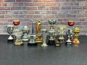 1:18 Formula 1 Grand Prix Winners Trophies Hamilton Senna Schumacher